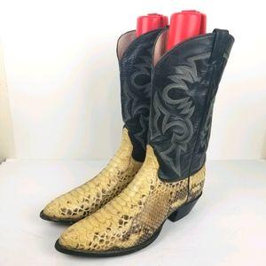 RARE Remington Cowboy vintage western boots 12 D